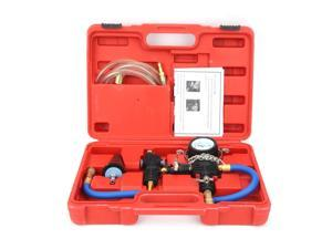 Cooling System Vacuum Purge & Coolant Refill Kit with Carrying Case for Car SUV Van Cooler