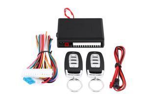 Car Keyless Entry System Door Lock Central Locking Remote Control Kit Universal