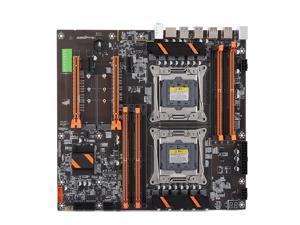 Dual Socket Motherboard E5CPU LGA 2011 3 Pin 8x DDR4 DIMM USB SATA M.2 PCI-E FEO