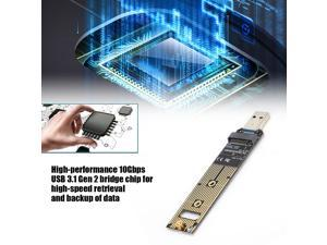 NVME to USB Adapter Board M.2 NVME SSD to USB3.1 Type-A Card 10Gbps Adapter Card