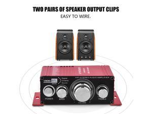 DC12V 20W+20W HIFI Stereo Audio Power Amplifier Home Theater For Kinter MA170