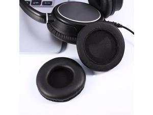 1 Pair Pair 75mm Replacement Ear Pads Anti-Slip Headset Headphone Earpad Cover