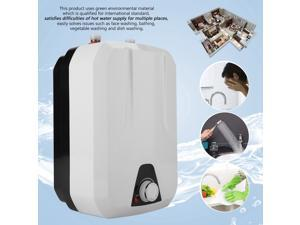 1500W 8L Instant Hot Water Heater Electric Tankless On Demand House Shower Sink