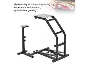 Steel Racing Game Simulator Steering Wheel Stand Accessory Black for Logitech G25 G27 G29 G920
