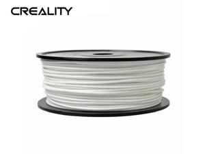 Creality Ender series 1.75mm PLA Filaments (WHITE),3D Printer Filaments,Filaments for 3D Printers Dimensional Accuracy +/- 0.02 mm, 1 kg 2.2Lbs Spool NO Bubble