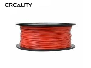 Creality Ender series 1.75mm PLA Filaments (RED),3D Printer Filaments,Filaments for 3D Printers Dimensional Accuracy +/- 0.02 mm, 1 kg 2.2Lbs Spool NO Bubble