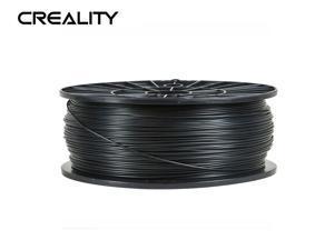 Creality Ender series 1.75mm PLA Filaments (BLACK),3D Printer Filaments,Filaments for 3D Printers Dimensional Accuracy +/- 0.02 mm, 1 kg 2.2Lbs Spool NO Bubble