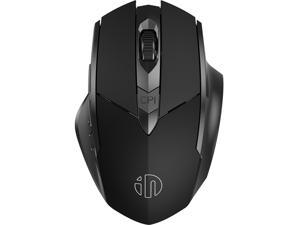Ergonomic silent wireless gaming mouse, rechargeable flagship feel wireless mouse 6-button adjustable DPI