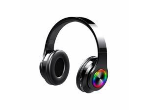 Color Wireless Bluetooth Headphone Sports Gaming Earphone Waterproof Hifi Stereo Music Headset for Android IOS PC Radio Earbud