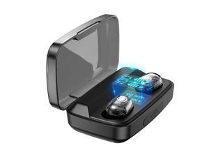 Mini Wireless Headphones Earphones Bluetooth TWS Touch Control With Microphone Sport Headset Noise Cancel Earphone Headphone