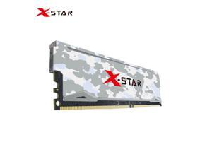 X-Star DDR4 RGB RAM 3200MHz Desktop Memory 260 Pin Less Power Consumption Plug and Play for Intel/AMD Motherboards White 8GB