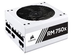 CORSAIR RMx Series RM750X White 750W 80 PLUS Gold Certified Fully Modular ATX Power Supply