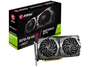 MSI Gaming GeForce GTX 1650 128-Bit HDMI/DP 4GB GDRR6 HDCP Support DirectX 12 Dual Fan VR Ready OC Graphics Card (GTX 1650 D6 Gaming X)