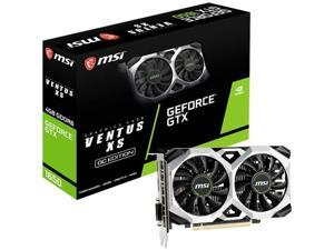 MSI Gaming GeForce GTX 1650 128-Bit HDMI/DP/DVI 4GB GDRR6 HDCP Support DirectX 12 VR Ready OC Graphics Card (GTX 1650 D6 Ventus XS OC)
