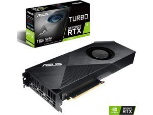 ASUS GeForce RTX 2080 Ti 11G Turbo Edition GDDR6 HDMI DP 1.4 Type-C graphics card (TURBO-RTX2080TI-11G)