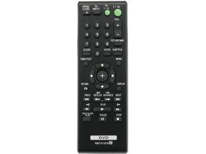 RMT-D197A RMTD197A Replaced Remote fit for Sony DVD Player DVPSR210P DVP-SR100 DVP-SR120 DVP-SR201P DVP-SR210P DVP-SR210PB DVP-SR310P DVP-SR320 DVP-SR405P DVP-SR510H DVP-SR750HP