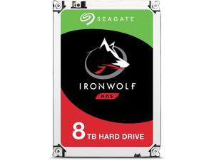 Seagate IronWolf 8Tb NAS Internal Hard Drive HDD Ã? 3.5 Inch SATA 6GB/S 7200 RPM 256MB Cache for Raid Network Attached Storage (ST8000VN0022)