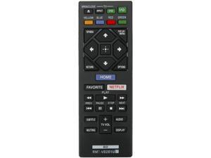 RMT-VB201U Remote Control sub RMT-VB100U fit for Sony Blu-ray Disc DVD Player UBP-UX70 UBP-X700 BDP-BX150 BDP-BX350 BDP-BX370 BDP-BX550 BDP-BX650 BDP-S1500 BDP-S1700 BDP-S2500 BDP-S2900 BDP-S3500