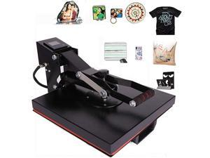 CO-Z Industry Quality 15 X 15 High-Pressure Clamp Heat Transfer Press Machine for T-Shirts, Pillow Cases