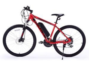 """VIRIBUS 27.5"""" Electric Mountain Bike with 350W High-Speed Brushless Motor 