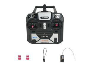 JJRC JJPRO EM-16 2.4GHz 6CH AFHDS 2A Mode 2 RC Transmitter with Receiver Support P175 for RC Drone