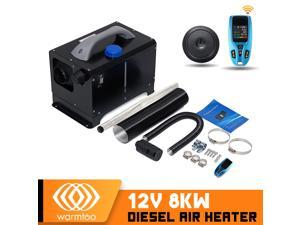 WARMTOOL 8KW 12V All-in-one Car Diesel Air Parking Heater D