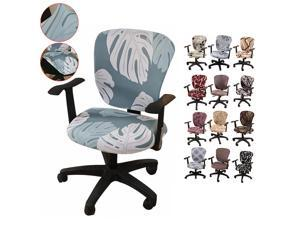 2PCS//SET Stretch Removable Gaming Chair Cover Computer Armchair Seat Slipcover