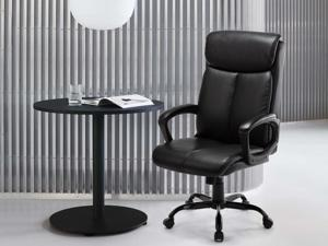 Rimiking Office Chair Executive Computer Task Desk Chair Pu Leather Reclining Adjustable Seat Height Swivel Ergonomic Design For Lumbar Support Newegg Com