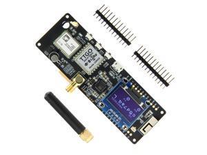LILYGO TTGO T-Beam ESP32 433/868/915/923Mhz V1.1 WiFi Wireless bluetooth Module GPS NEO-6M SMA LORA32 18650 Battery Holder With OLED 915MHZ