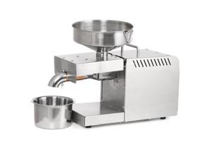 220V Oil Press Maker Machine Automatic Cold Press Oil Machine Heating Dissipation Device Sunflower Seeds Oil Extractor 500-1500W with adapter