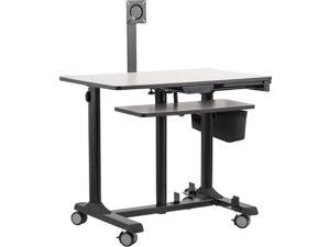 OKLAHOMA SOUND CORP EDTCP MOBILE COMPUTER SIT-STAND CART
