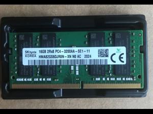 SK Hynix HMA82GS6DJR8N-XN 16G DDR4 3200 16GB 2Rx8 PC4-3200AA-SE1-11 For Laptop