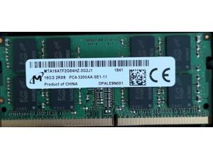 Micron MTA16ATF2G64HZ-3G2J1 16G DDR4 3200 For Laptop 2RX8 PC4-3200AA-SE1 compatible 2666 2400 1.2V