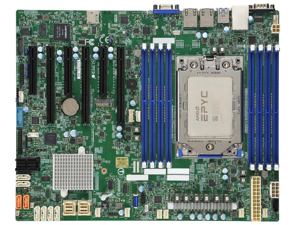 SUPERMICRO MBD-H11SSL-NC Mainboard, Factory Installed with AMD EPYC Rome 64 Cores 7502P CPU
