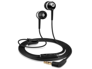 Sennheiser CX400-II Precision stereo in-ear headphones (1.2 m cable length, 3.5 mm jack plug, ear adapter set S / M / L, carrying case) black