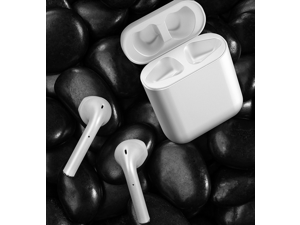 IPX6 Waterproof Bluetooth Earbuds, True Wireless Earbuds,  Cyclic Playtime TWS Headphones with Charging Case and mic for iPhone   Android, in-Ear Stereo Earphones Headset for Sport
