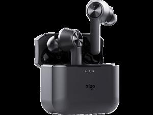 Aigo T09 Wireless Bluetooth Headphones Bluetooth 5.0 Binaural Music Mini Sports Headphones Universal Apple Huawei Xiaomi Phone New Product Touch Smart Waterproof Headphones T09 Black