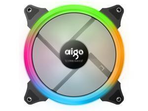 Aigo (Aigo) Aurora Symphony Edition 140mm computer case fan (6P interface/water cooling exhaust/shock absorbing feet/freebie 4 screws)