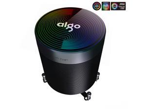 Aigo Disc Video MAX V5 Symphony Edition 5 heat pipe CPU air-cooled radiator (multi-platform/5V3-pin motherboard synchronization/PWM temperature control/with silicone grease)