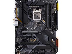 ASUS TUF GAMING Z490-PLUS (WI-FI) LGA 1200 (Intel 10th Gen) Intel Z490 (WiFi 6) SATA 6Gb/s ATX Intel Motherboard (Dual M.2, 12+2 Power Stages, USB 3.2 Front Panel Type-C, Intel WiFi 6 & 1Gb LAN, Aura