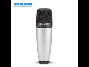 Samson C03 large diaphragm condenser microphone mobile phone live sound card equipment set professional recording noise reduction PC