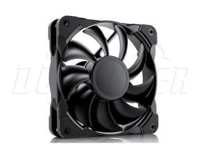 SA  Frost T1 12CM black PWM temperature control computer case fan (small 4pin motherboard/intelligent temperature control/shock absorption foot pad/mute/Get it for free 4 screws)