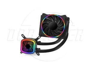 SA Ice Tower V120 Rainbow Edition Integrated water-cooled CPU radiator (PWM intelligent temperature control fan / full platform support / silent ceramic bearing / with silicone grease)