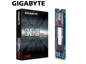 Gigabyte GP-GSM2NE3256GNTD 256 GB SSD Solid State Drive - M.2 2280 Internal - PCI Express NVMe (PCI Express NVMe 3.0 x4) - Desktop PC Device Supported - 1700 MB/s Maximum Read Transfer Rate