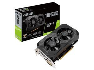 ASUS TUF Gaming GeForce GTX 1650 O4GB GDDR6 graphics card becomes your ticket to enter the PC gaming world 128-Bit GDDR6 PCI Express 3.0 HDCP Ready Video Card (TUF-GTX1650-O4GD6-P-GAMING)