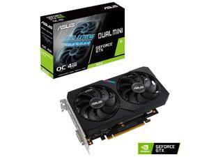 ASUS Dual GeForce® GTX 1650 MINI OC edition 4GB GDDR6 mini graphics card is equipped with two powerful axial fans, designed for Intel® NUC 9 Extreme kit, Intel® NUC 9 Pro kit, and other small chassis!