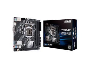 ASUS PRIME H410I-PLUS Intel H410 (LGA 1200) Mini-ITX motherboard, M.2, DDR4 2666MHz, HDMI, D-SUB, USB 3.2 Gen 1 port, SATA 6 Gbps, COM header