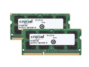 Crucial 8GB Ram Kit (2 x 4GB) DDR3L 1600 MT/s (PC3L-12800) SODIMM 204-Pin 1.35V Laptop Memory - CT51264BF160B