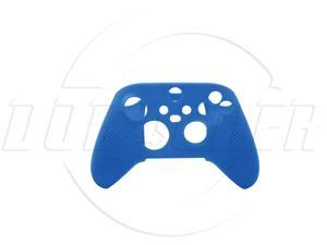 SA XboxSeries S/X wireless handle rubber sleeve XboxS/X silicone sleeve with non-slip particle handle-blue