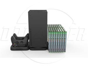 SA Stand for XBOX Series X/S Docking Charging Station with 2 chargeable Battery  +Can store 16 Game Slots  Combo